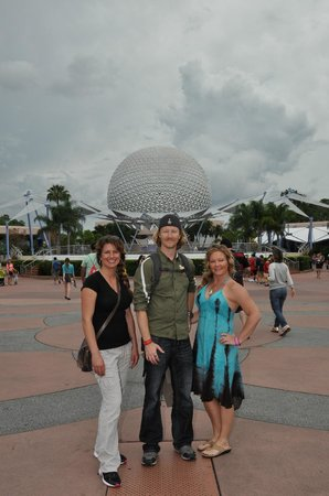 Epcot: Future world and the great Golf Ball