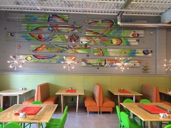 The Funky Brunch Cafe: inside seating