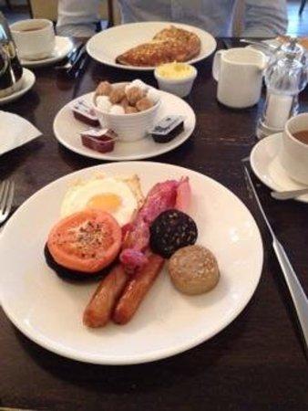 Athenaeum House Hotel : IRISH Breakfast