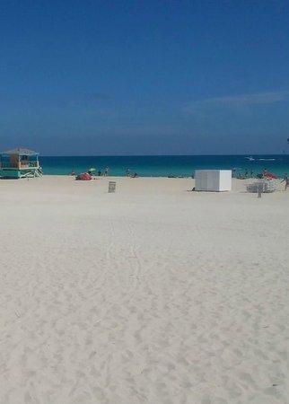 South Beach : spiaggia che parla da sola