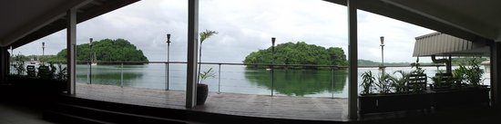 Novotel Suva Lami Bay : the deck