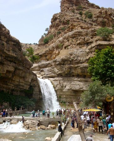 Gali Ali Bag: Semi-artificial waterfall