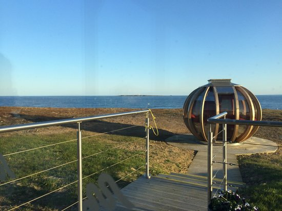 Skerries Bistro: View of the pod