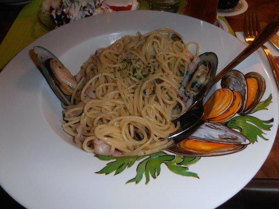 Hotel Rebstock : Spaghetti mit Meeresfrüchte