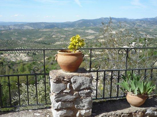 Hotel Sierra de Cazorla: desde la terraza del bar
