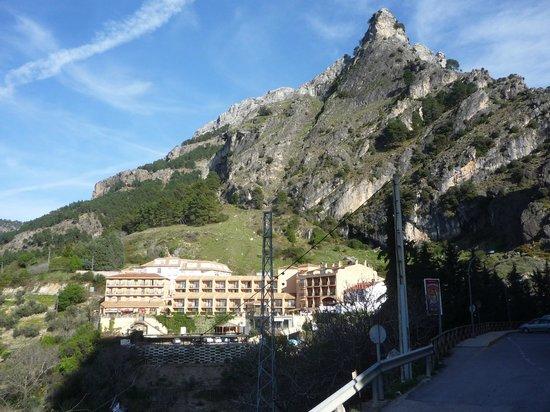 Hotel Sierra de Cazorla: desde lejo