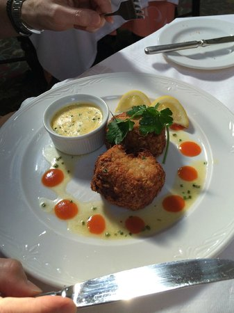 Mount Royale Hotel & Spa: Fish cakes - highly recommended