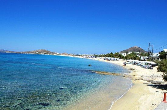 Sunset Studios on the Beach: Agios Prokopios Beach, 30m from Sunset studios
