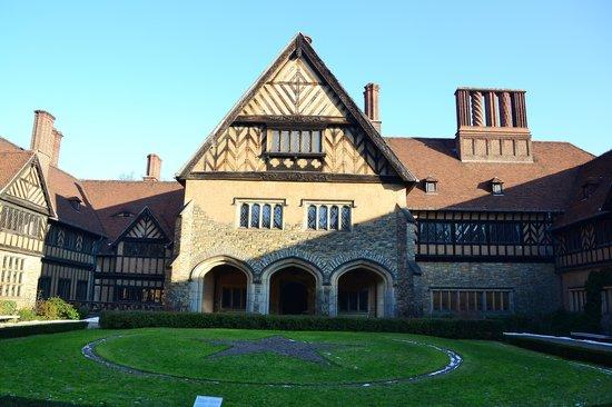 Schloss Cecilienhof: Внтуренний дворик