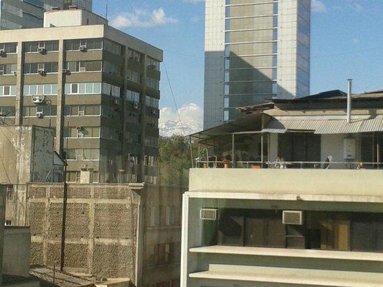 Hotel Galerias: Vista do Quarto