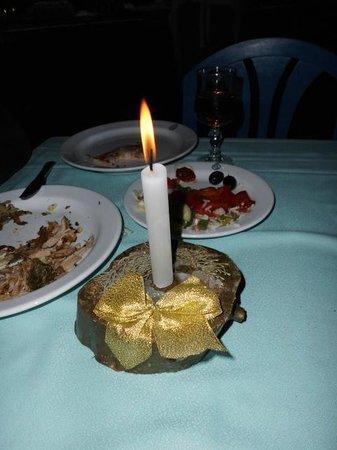 Marhaba Royal Salem: last night we had candles