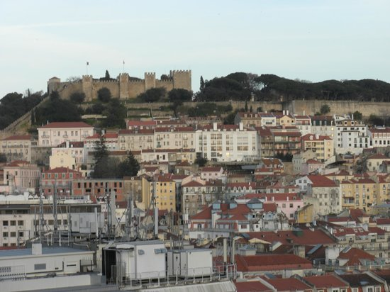 VIP Executive Eden Aparthotel: Vistas desde la terraza del hotel