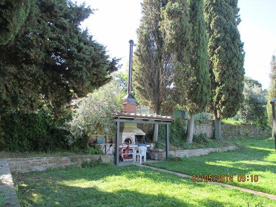 Zona barbecue con giardino foto di casa podere san - Zona barbecue in giardino ...