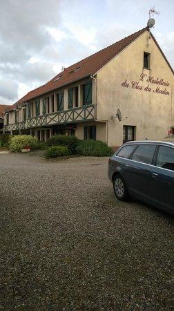 Hostellerie Le Clos du Moulin : entrée