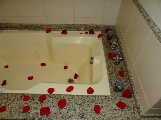 Blue Tree Towers Florianopolis: Pacote Noite de Núpcias - Pétalas de rosas na banheira