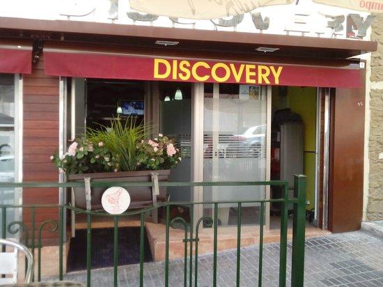 Discovery: FACHADA DEL RESTAURANTE