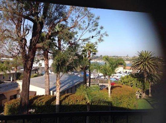 Hyatt Regency Newport Beach: view from balcony