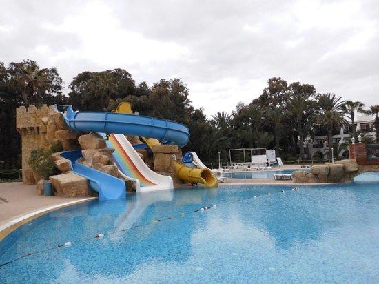 Marhaba Royal Salem: one of the pools