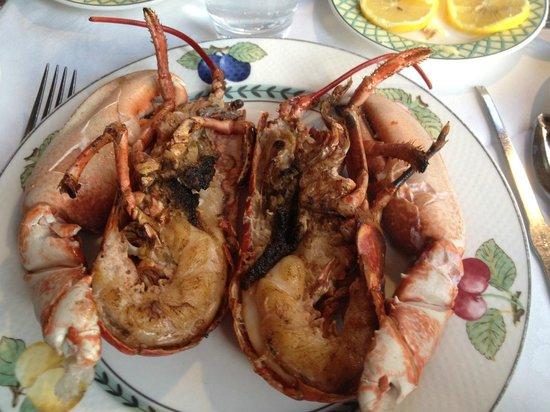 Au Petit Marguery: Lobster