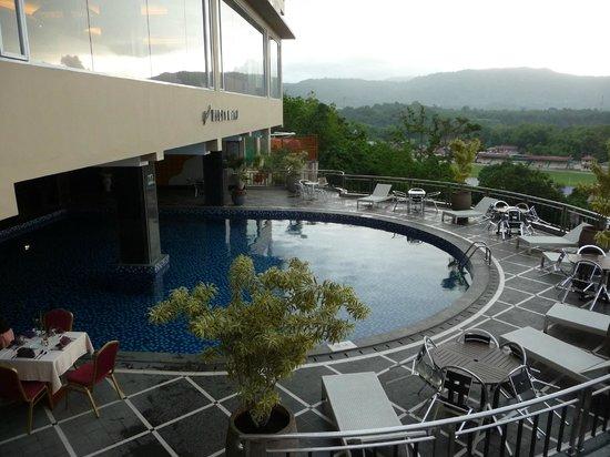 Small Swimmimg Pool Picture Of Grand Rocky Hotel Bukittinggi