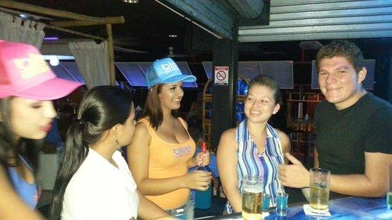 Blue Restaurant & Social Lounge: Blue Cafe Bar and Restaurant, Quepos, Costa Rica