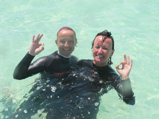 Diving Dominican Republic : Our smile tell eveything !