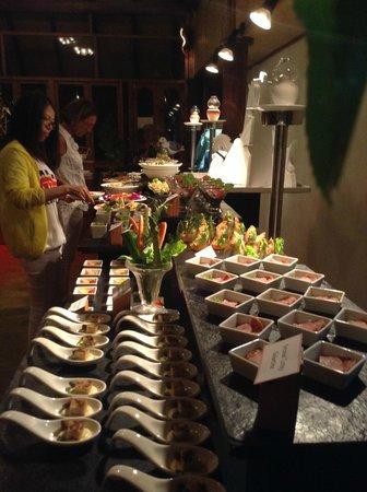 Sun Aqua Vilu Reef : Vorspeisenbuffet