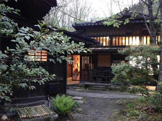 Ryokan Sanga: Access to Onsens