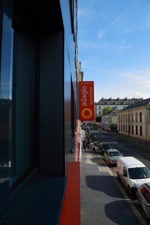 Aparthotel Adagio Access Paris Reuilly: Street view