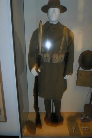 Museo Histórico Alemán: Soldier's Outfit