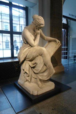 German Historical Museum: Statue