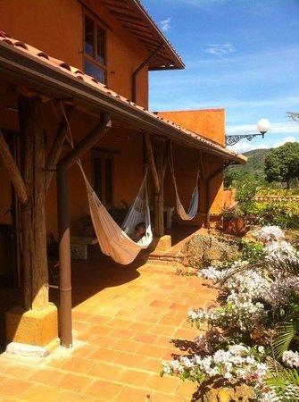 Hotel Boutique Spa Terra Barichara: Privé terras