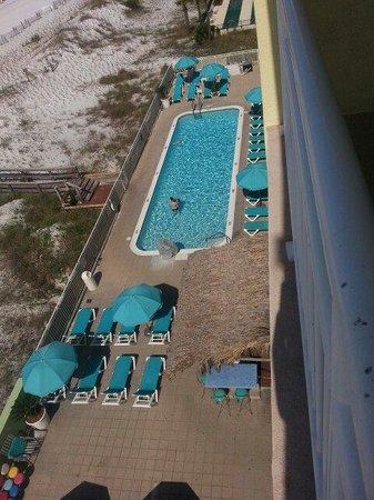 BEST WESTERN Ft. Walton Beachfront: Hotel pool