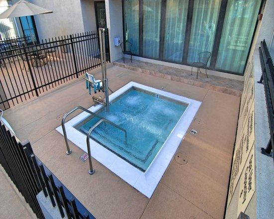Hampton Inn & Suites Mountain View: Outdoor Whirlpool Spa