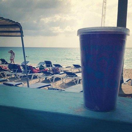 Legends Beach Hotel: My birthday drink!