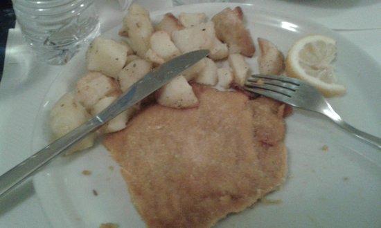 UNA Hotel Scandinavia: Dinner