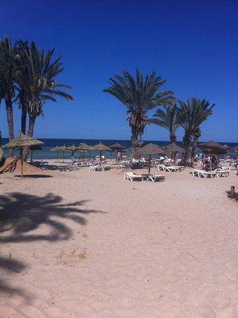 Hotel & Club Lella Meriam : La plage
