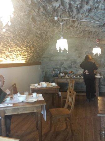 Il Rustico: Sala per la colazione