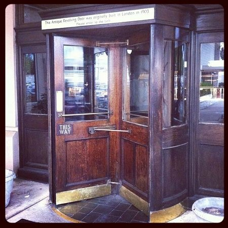 The Tavern at Phipps: 1903 antique revolving door & 1903 antique revolving door - Picture of The Tavern at Phipps ... Pezcame.Com