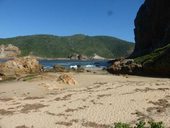 Little beaches at the Knysna heads
