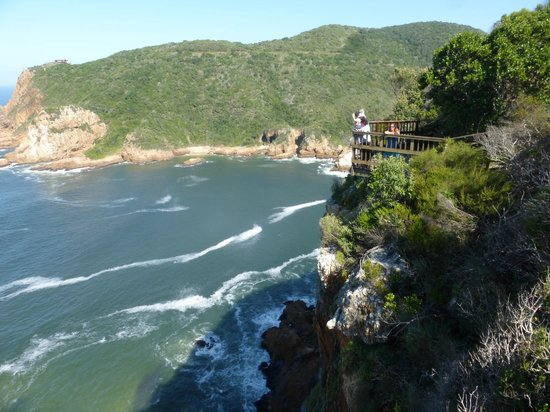 Knysna, South Africa: One of the lookouts