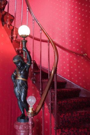 Manoir de Beauregard: L'Egyptien dans l'escalier
