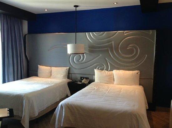 Hard Rock Hotel Riviera Maya: two bed room