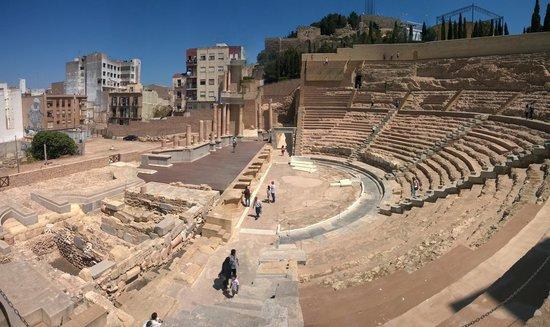 Roman Theatre Museum: Вид