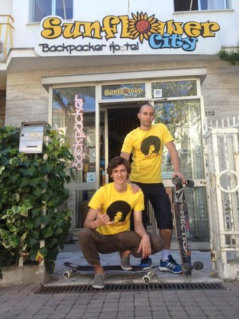 Sunflower City Backpacker Hostel & Bar: Long board mate at Sunflower City hostel in Rimini