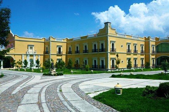 Real Hacienda Santo Tomás: Vista externa