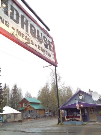 Talkeetna Roadhouse: view from bakery