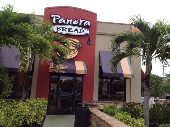 Panera Bread: Front door