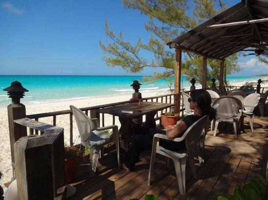 Pigeon Cay Beach Club : Bar