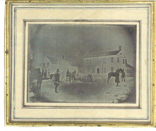 VanWinkle Inn : The Inn circa 1850